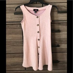 Girls Pink sleeveless dress ( never worn )
